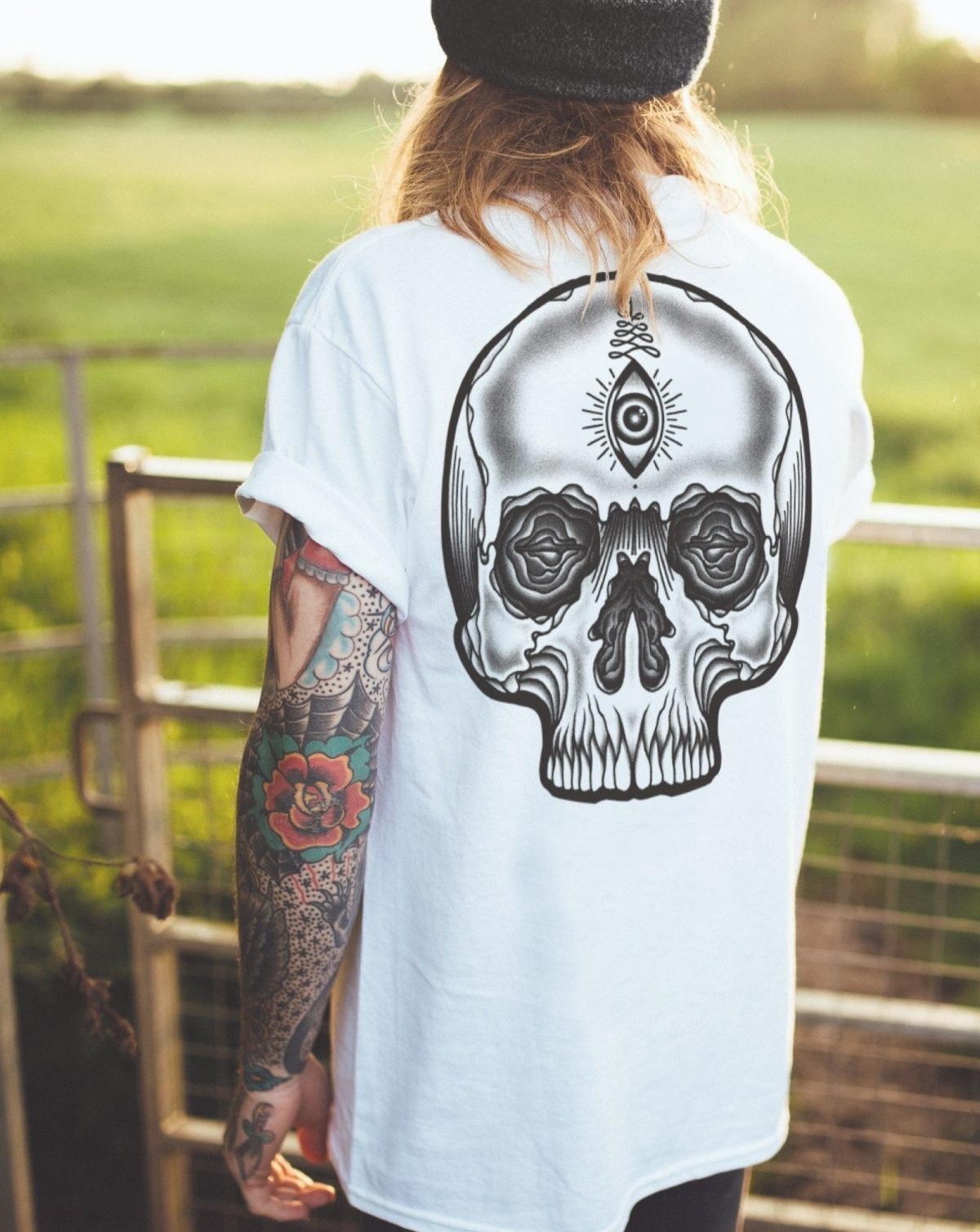 3 Electric Ink Tee